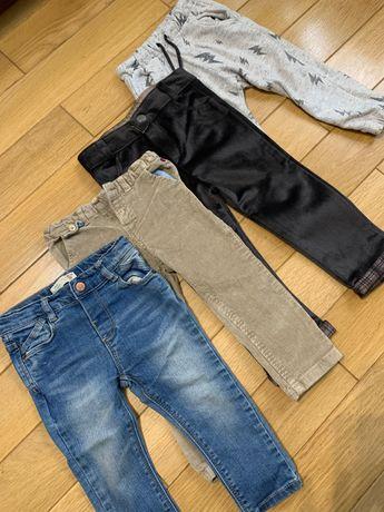4 шт штанів на хлопчика, 1.5-2 роки