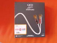 kabel głośnikowy QED 2x3m XT25 banany świetny kabel w tej cenie