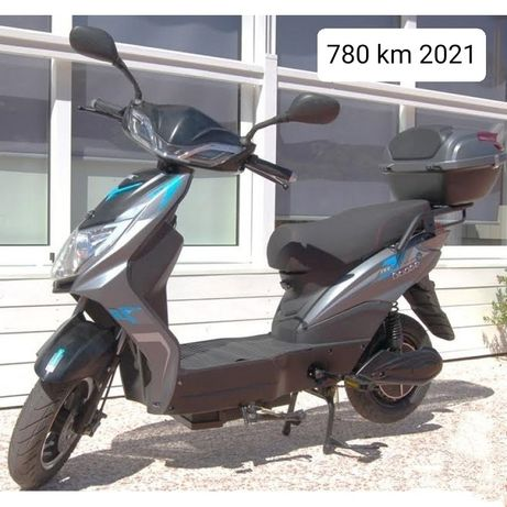 vortex goose two l azul scooter electrica