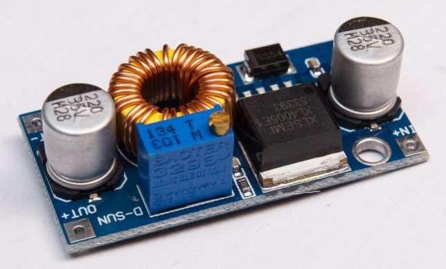 Понижающий модуль XL4005 (5А) регулируемый преобразователь плата