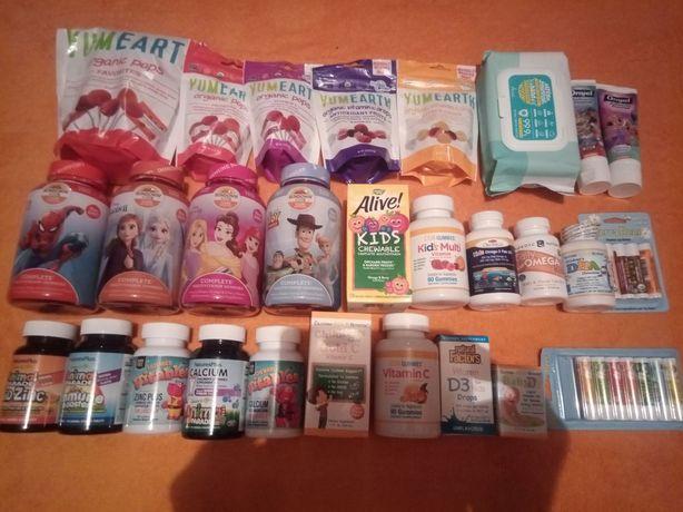 Айхерб! вітаміни для дітей: Імун бустер, кальцій, омега3, віт С, Д