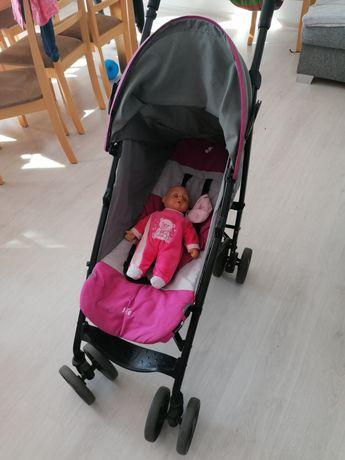 Spacerówka, wózek joie dla dziewczynki