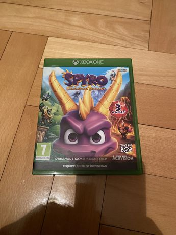 Spyro Reignited Trilogy xbox one na płycie