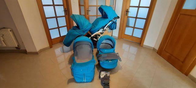 Wózek bliźniaczy / rok po roku Tako Baby Design