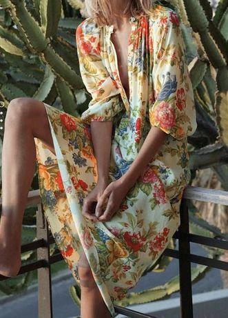 Платье Blumarine SOGO ZARA Hilfiger klein Lauren Dutti L-XL