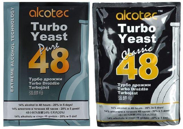 Дрожжи спиртовые ALCOTEC Turbo 48 Classik; Pure