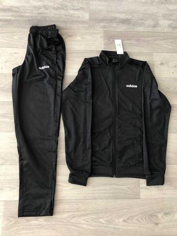 Оригинал Костюм спортивный мужской Adidas Basics DV2470 черный