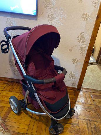 Детская коляска Carrello Vista карело виста бордовая запорожье