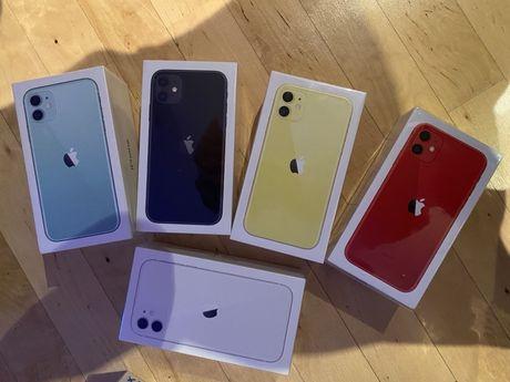 Nowy Zapakowany IPhone 11 64GB , 5 KOLORÓW !!- kup 3049zl