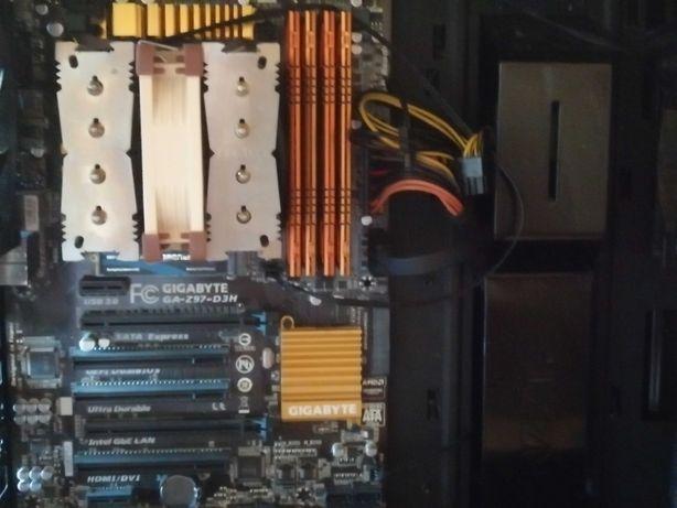 Pc i5 4690k + z97-d3h mb+ 32gb ddr3 ram + Noctua cooler + 480 gb SSD