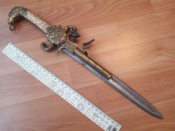 Макет сувенир пистолет-кинжал пистоль меч denix