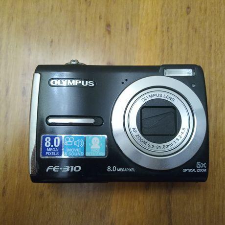 Фотоаппарат Olympus FE-310 рабочий на запчасти