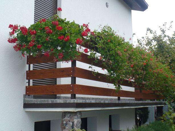 Deska na ogrodzenia do ogrodu modrzewiowa gat 1 sucha gładka