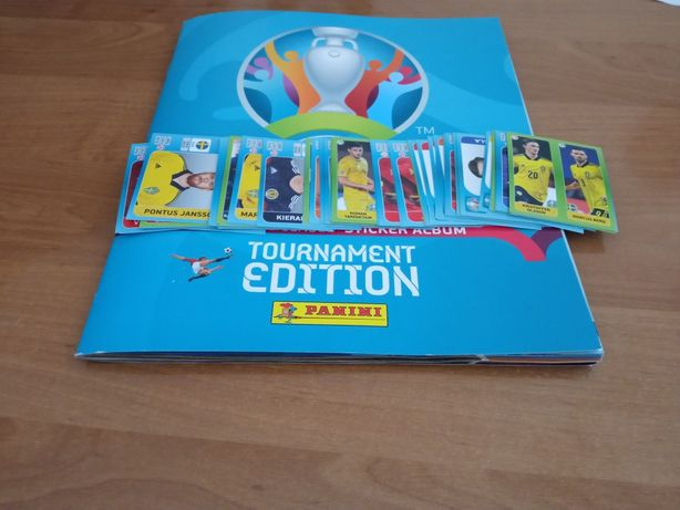 Naklejki piłkarskie Panini EURO 2020 Tournament Edition