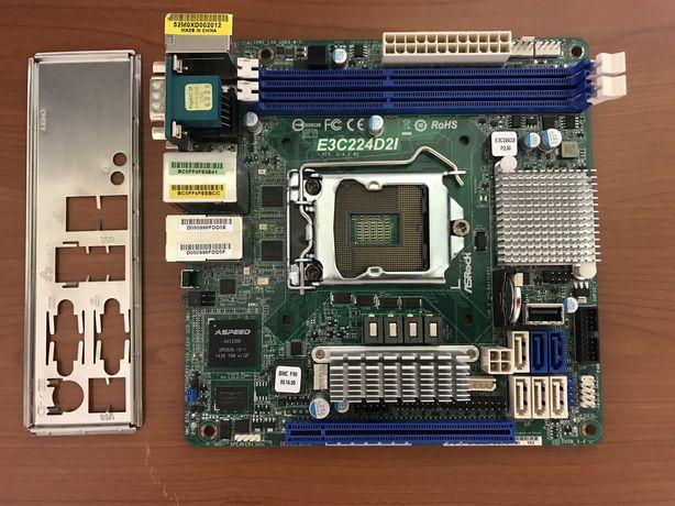 ASRock E3C224D2I Server mini-itx LGA 1150