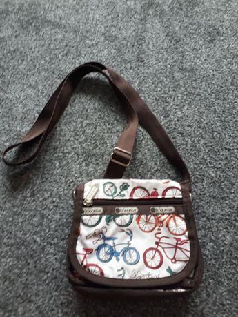 Mała torebka z motywem rowerów