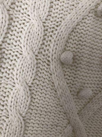 Sweter ze srebrna nitka reserved rozm S