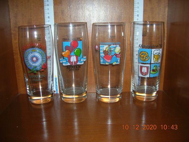 Spaten Munchen 0,5 l - oktoberfest seria szklanek różne roczniki
