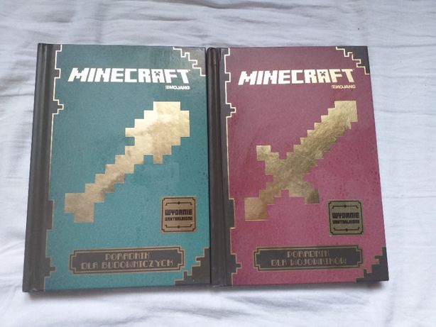Minecraft poradnik dla wojowników/ minecraft poradnik dla budowniczych