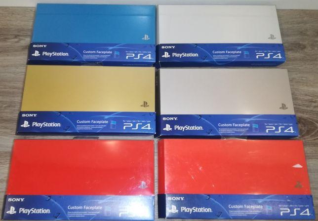 PS4 Custom Faceplate - 5 Cores diferentes - Originais