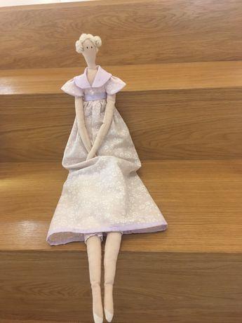 Handmade piekna lalka