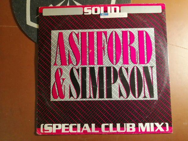 """Ashford & Simpson - Solid (Special Club Mix ) 12"""" VG- 1982 Soul Funk"""
