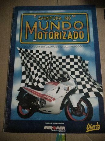 "Caderneta ""Aventura no Mundo Motorizado"""