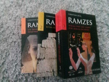 """Ramzes"" Christian Jacq tom1-3"