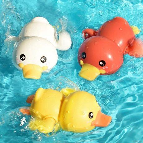 Zabawka do Kąpieli Pływająca Kaczka Nakręcana 4szt