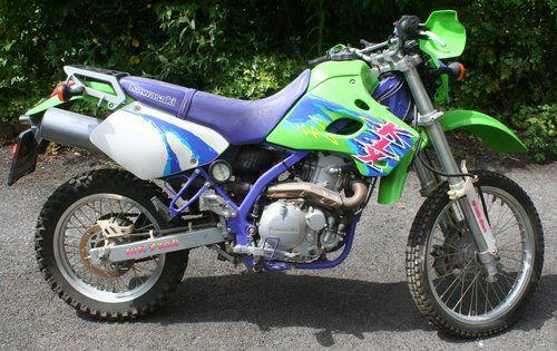 Autocolantes Kawasaki KLX 650 ano 1993 > 1996