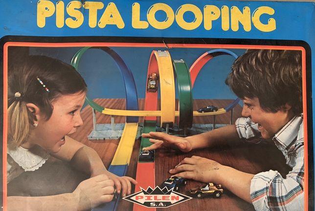 Pista looping anos 80