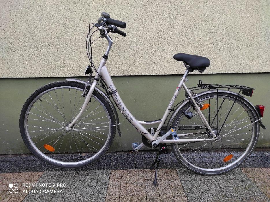 "Rower miejski damski""damka""28cali Peugeot Strumiany - image 1"