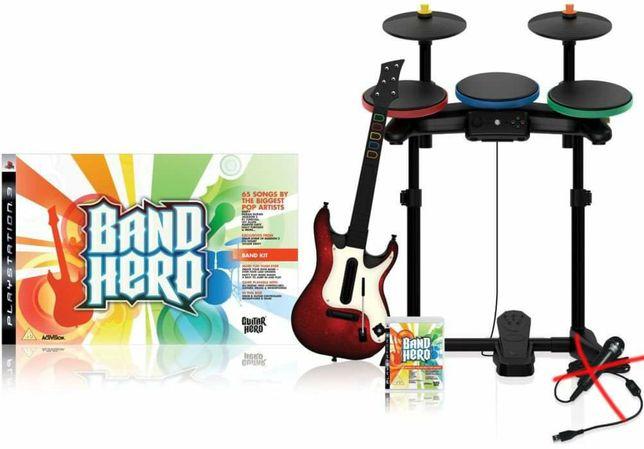 Band Hero Playstation perkusja gitara