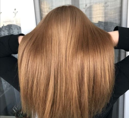 Полировка, стрижка кончиков, укладка волос
