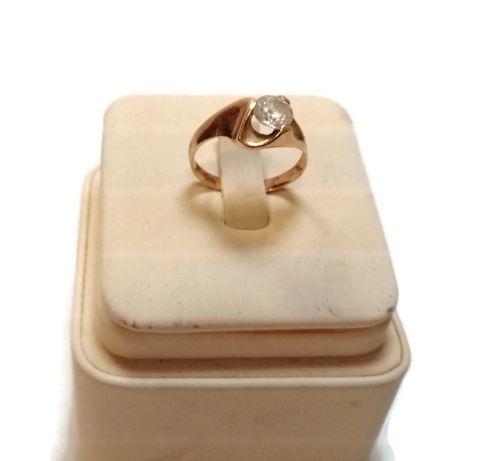 Wyrób jubilerski - złoty pierścionek 333 2,35g