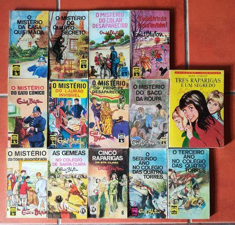 14 Livros Col. Mistério Enid Blyton, Col. 4 Torres, S. Clara, Três Rap