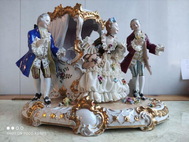 "Фарфоровая статуэтка ""Unterweissbach"""