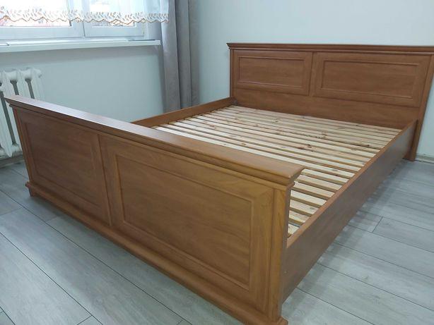 OKAZJA cenowa - Łóżko sypialniane ze stelażem drewnianym 160x200cm