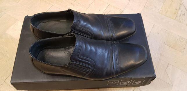 Туфли мужские черные натуральная кожа размер 40