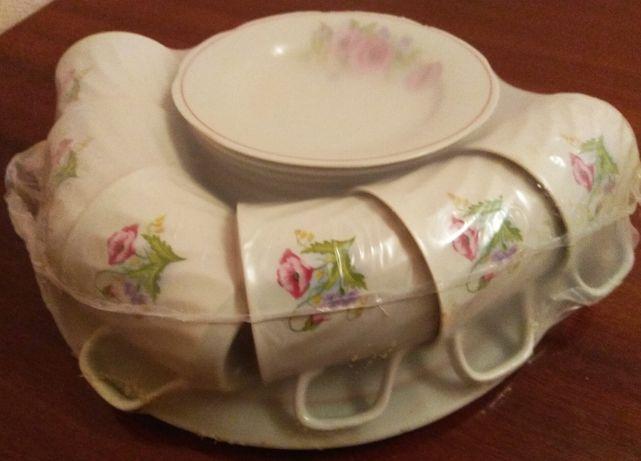 Продам фарфоровый чайный сервиз на 6 персон Барановский ФЗ