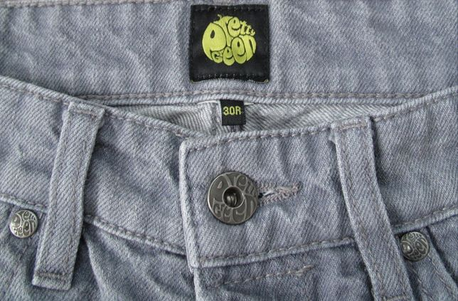 pretty green серые джинсы W30 L32 оригинальные