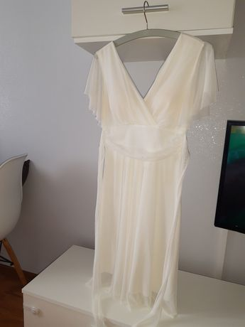 Sukienka wizytowa na komunię/chrzest M/L