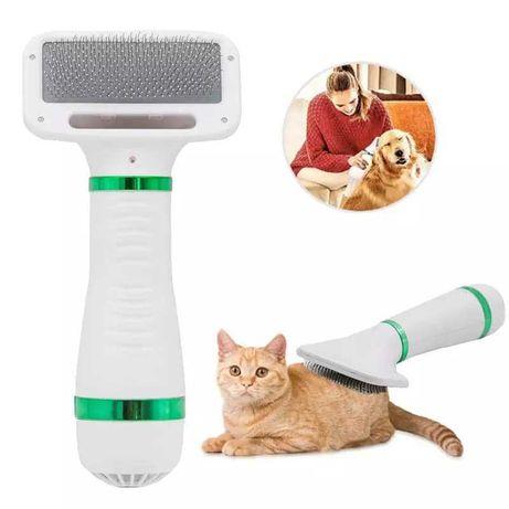 Secador de cabelo para gato cão escova de pêlos animal de estimação