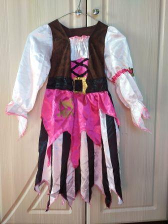 Платье пиратки пирата Изи пиратка