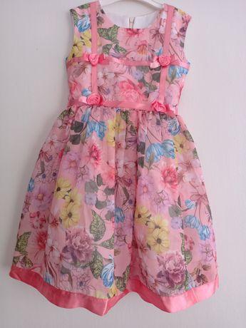 Летнее платье  на рост 104-110