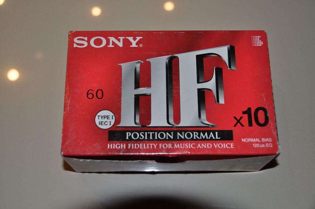 Kasety magnetofonowe SONY HF 60