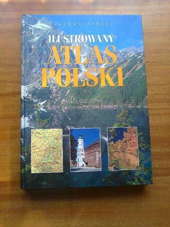 Ilustrowany Atlas Polski duży format