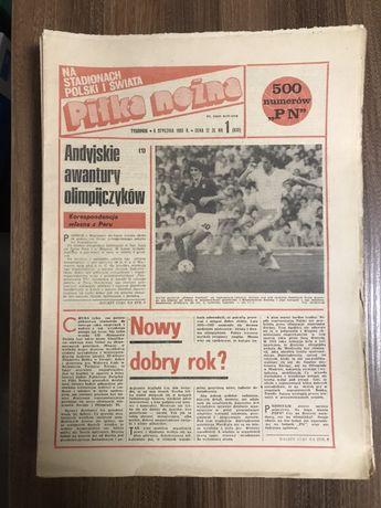 Tygodnik Piłka Nożna rocznik 1983 komplet