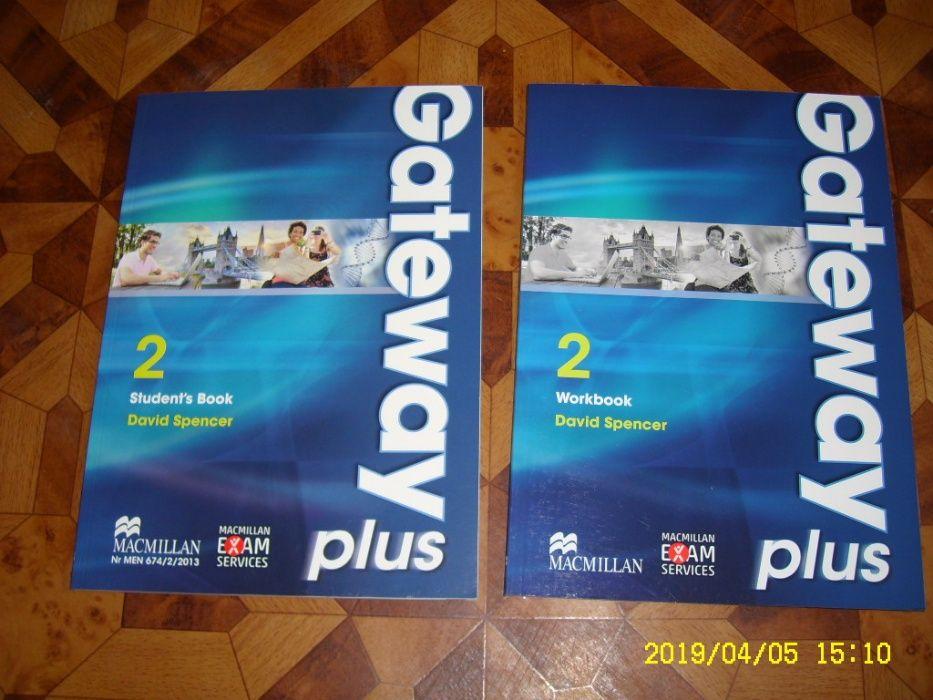 Zestaw gateway 1, 2 plus, podręcznik, ćwicz work, stud book Macmillan