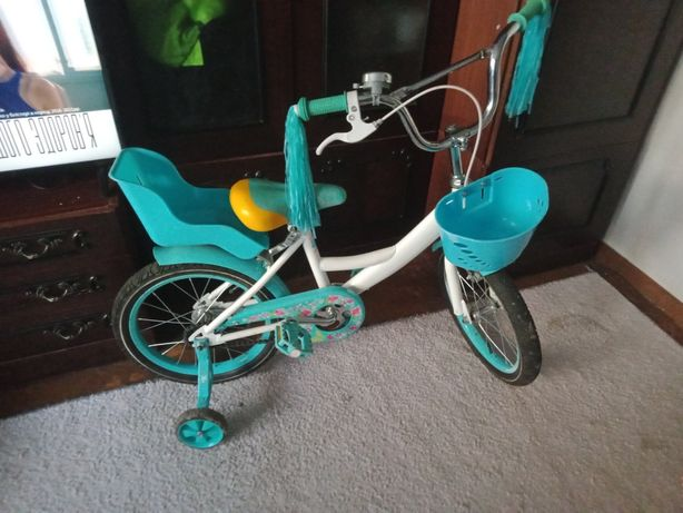 Велосипед для девочки 16 дюймов Azimut